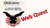 A Midsummer Night's Dream Pre-Reading Activity Web Quest