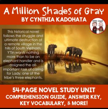 A Million Shades of Gray Novel Study Unit