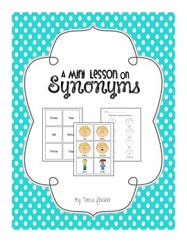 A Mini Lesson on Synonyms
