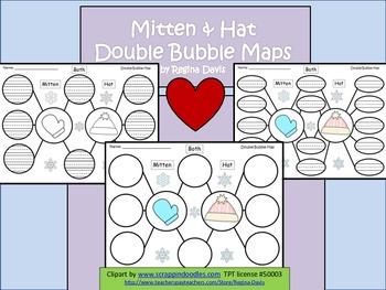 A+ Mitten & Hat:  Double Bubble Maps