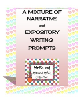 A Mixture Of Narrative And Expository Writing Prompts