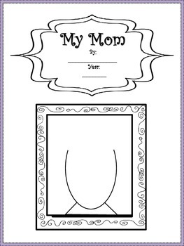 A Mother's Day Booklet/ Mother's Day Project For Students