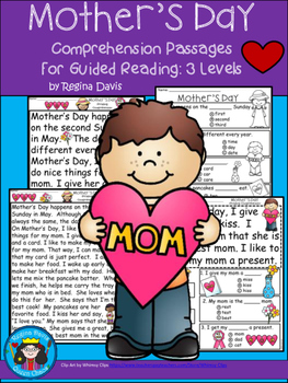 A+ Mother's Day... Comprehension: Differentiated Instructi