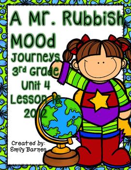 A Mr. Rubbish Mood Journeys 3rd Grade Supplement Activitie