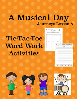 A Musical Day Journeys Lesson 8