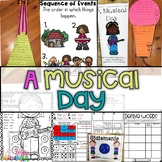 A Musical Day Supplement Activities 1st Grade Lesson 8