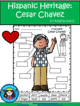 A+ National Hispanic Heritage Month: Cesar Chavez Labels