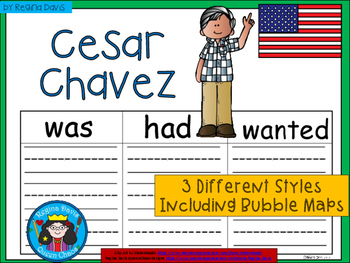 A+ National Hispanic Month: Cesar Chavez... Three Graphic