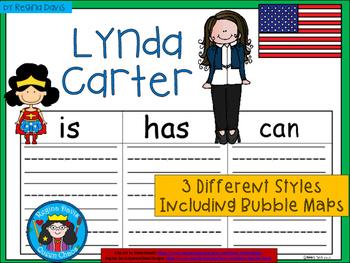 A+ National Hispanic Month: Lynda Carter ...Three Graphic