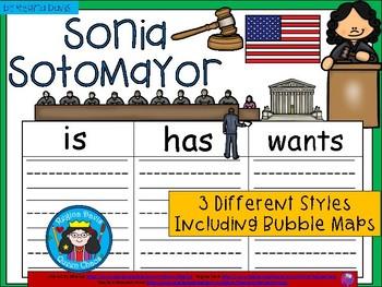 A+ National Hispanic Month: Sonia Sotomayor ...Three Graph