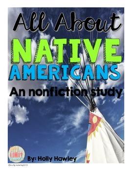 A Native American Non-fiction unit