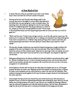A New Kind of Fun - Literary Text Test Prep
