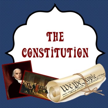 The Constitution: Guided power point lesson about creating