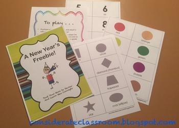 A New Years Preschool