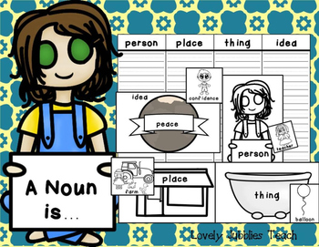 A Noun is... Noun Practice: Identifying and Sorting Nouns.