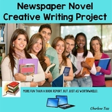Newspaper Novel Project Creative Writing Activity