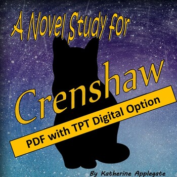 A Novel Study for Crenshaw by Katherine Applegate