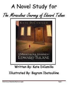 "A Novel Study for ""The Miraculous Journey of Edward Tulane"
