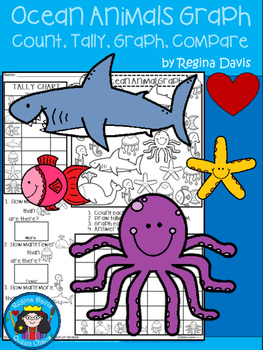 A+ Ocean: Count, Tally, Graph, and Compare