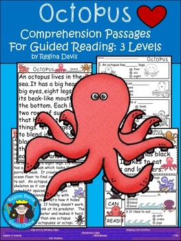 A+ Octopus.... Comprehension: Differentiated Instruction F
