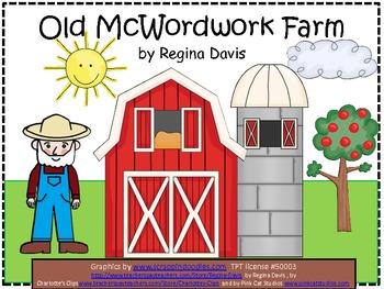 A+  Old McWordwork Farm: Kindergarten Sight Word Story