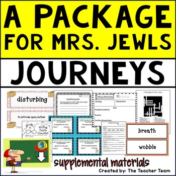 A Package for Mrs. Jewls Journeys Fifth Grade Supplemental