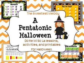 A Pentatonic Halloween - festive songs for Do Re Mi So La