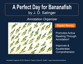 """""""PERFECT DAY FOR BANANAFISH"""" by J.D. SALINGER: Annotation"""