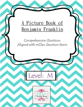 A Picture Book of Benjamin Franklin-Comprehension Questions