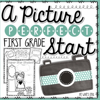 Picture Perfect Start: First Grade {Back to School Book} P