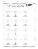 A Piece of My Heart: Adding Like Fractions {FREEBIE}