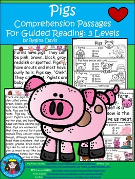 A+ Pig Comprehension: Differentiated Instruction For Guide