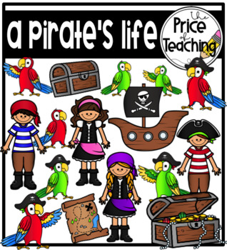 A Pirate's Life Clipart Set