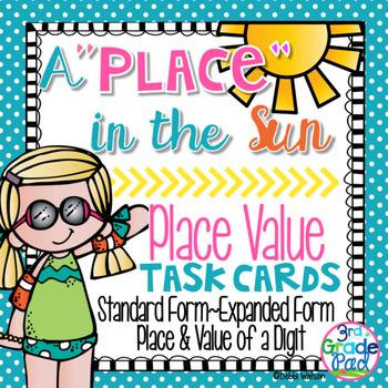 Place Value Task Card Set