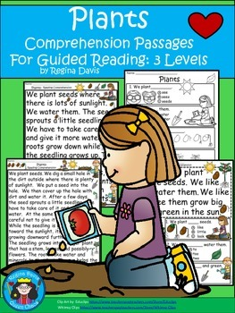 A+ Plants...Comprehension: Differentiated Instruction For