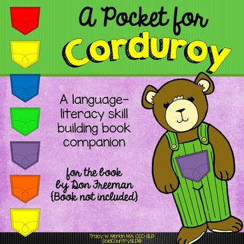 A Pocket for Corduroy - A Language/Literacy Book Companion