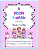 A Poem a Week {poems and songs}