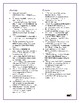 A Prayer for Owen Meany: Synonym/Antonym Crossword—Use wit