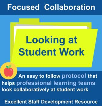 A Protocol to Facilitate Collaboratively Looking at Studen