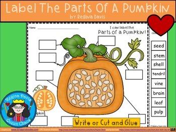A+ Pumpkin Labels