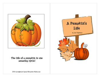 A Pumpkin's Life