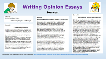 A Quick Guide To Writing Opinion Essays