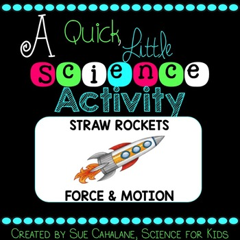 A Quick Little Science Activity: Straw Rockets