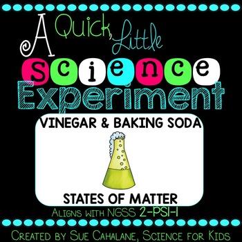 A Quick Little Science Experiment: Baking Soda & Vinegar {