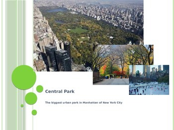 A Quite Introduction to Central Park with Complex Text (Wh