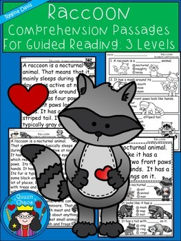 A+ Raccoon Comprehension:Differentiated Instruction For Gu