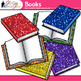 Reading Book Clip Art {Back to School Supplies for Classro