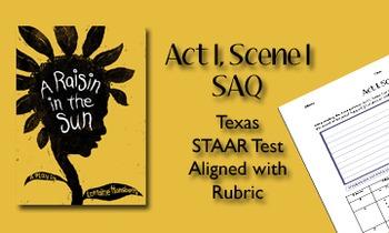 A Raisin in the Sun Act I, Scene I SAQ
