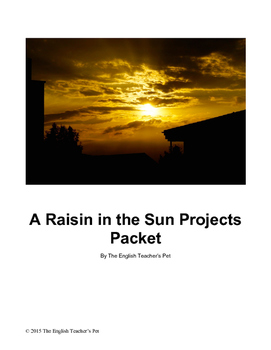 A Raisin in the Sun Projects Packet