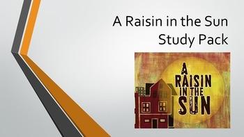 Raisin in the Sun Study Pack